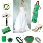 {Décoration Mariage} Inspiration Vert Emeraude
