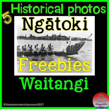 Black and white Waitangi photos of the building of Ngatokimatawhaorua and the 1940s celebration.