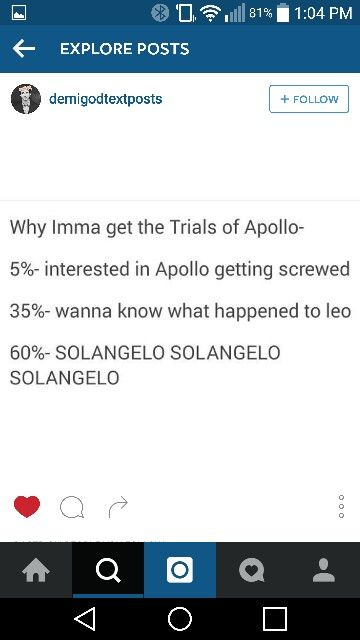 """The real reasons why I'm going to read """"The Trials of Apollo""""..."""