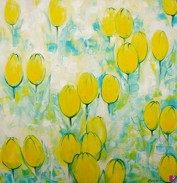 tulipani gialli  di Natalia Khromykh