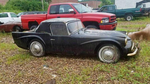 Rare 1964 Daimler Sp250 On Craigslist Abandoned Cars Rare British Sports Cars