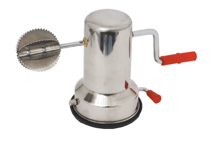 The Coconut Grater, Stainless Steel with Suction Base