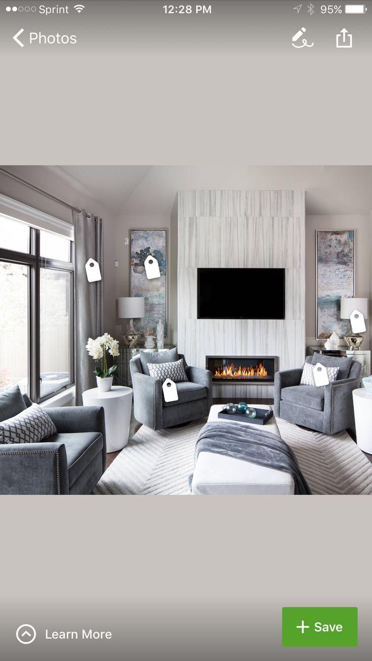 42 besten Wohnzimmer Bilder auf Pinterest | Kamine, Wohnzimmer ideen ...