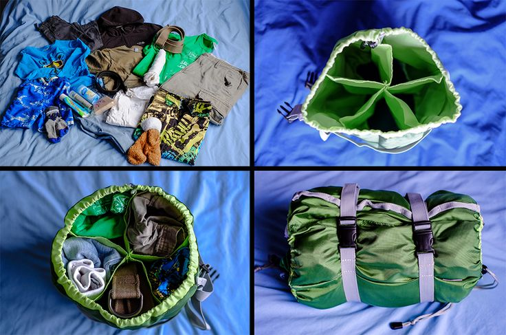 I like my things organised and I think this is awesome! Organizational Bliss for Back Packs - Gobi Gears HoboRoll