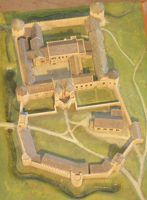Farleigh Hungerford Castle model by Nickophoto, via Flickr