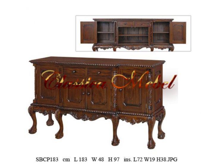 Буфеты - Мебель из Индонезии - Классика-Мебель.Ру