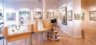The Roger Billcliffe Gallery is Scotland's largest private gallery, occupying five floors of an early 19th century building in the heart of Glasgow.  The Gallery now specialises in exhibiting the best of Scottish contemporary and 20th century painting and also displays a wide range of contemporary applied arts - ceramics, jewellery, metalwork, silver and glass.  http://www.billcliffegallery.com/