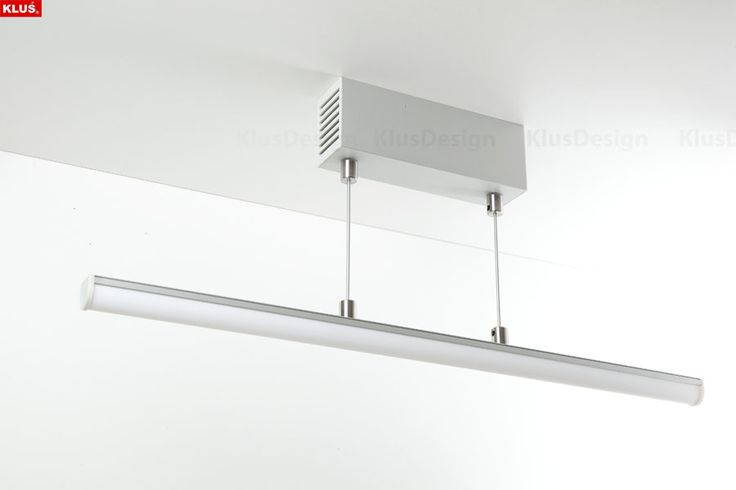 GIP suspnded fixture Suspended GIP fixture mounted to drop ceiling with the use of fasteners. powered by 12V. Max. legth of the fixture - 2m.