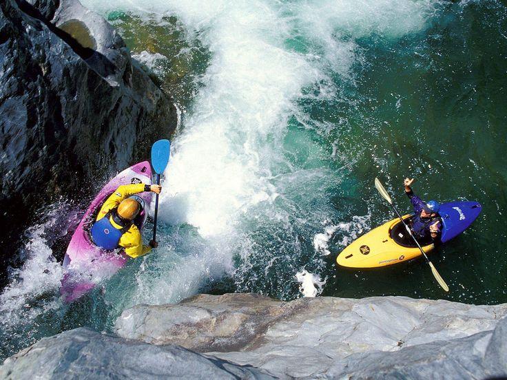 White Water Kayaking... one day... maybe!