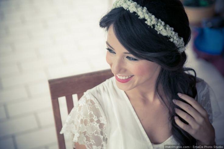 Acconciatura da sposa con capelli sciolti: consigli per chiome lunghe e perfette