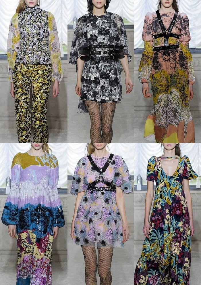 Milan Fashion Week Womenswear Print Highlights Part 1 – Autumn/Winter 2015/16 | Patternbank