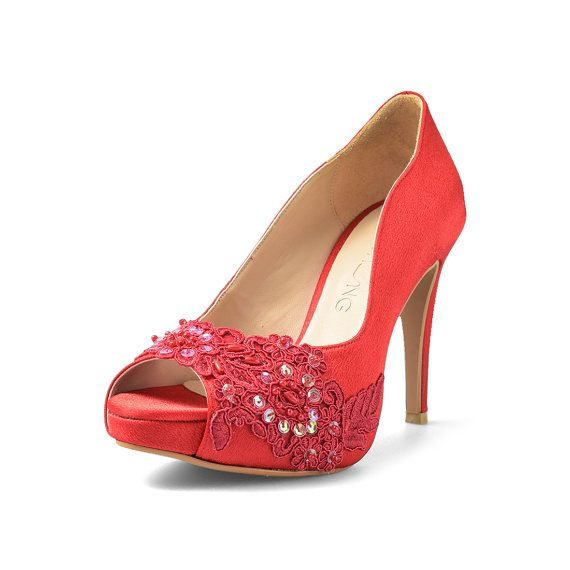 Check out this item in my Etsy shop https://www.etsy.com/uk/listing/268664676/miss-ace-2-red-wedding-heels-red-satin