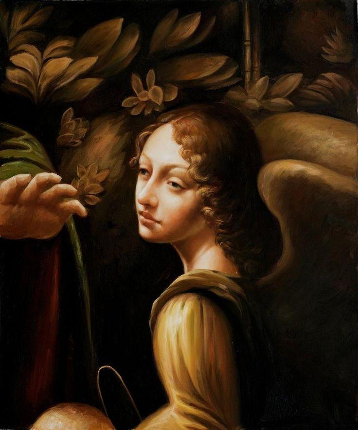 How To Copy Leonardo Oil Painting
