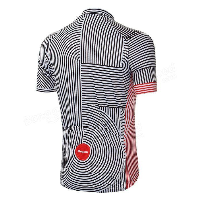 Unisex montar en bicicleta al aire libre de poliéster de manga corta de ropa deportiva en bicicleta mtb bicicleta Jersey verano Venta - Banggood.com