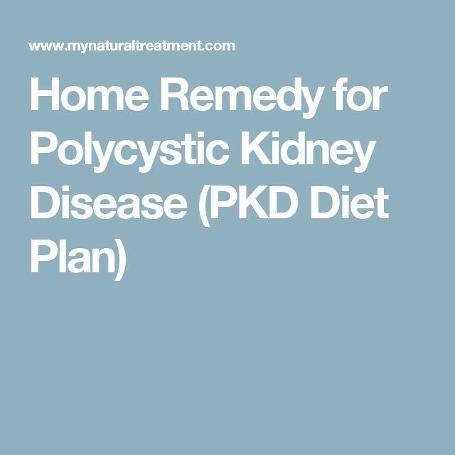 Home Remedy for Polycystic Kidney Disease (PKD Diet Plan)