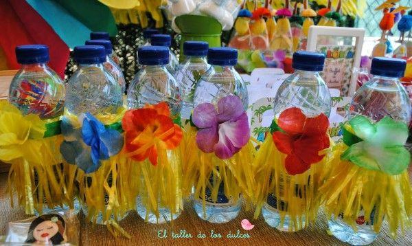 fiestas y cumpleaños ideas decoración tropical verano hawaiana hawai infantil 8 600x358 Fiesta hawaiana para combatir los calores del verano...