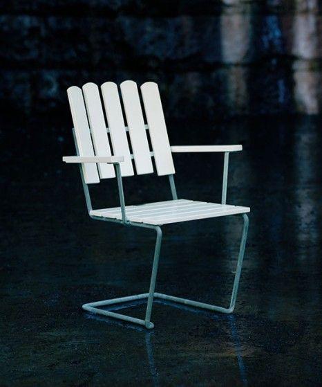 Stol A2 | Hvidlakeret eg