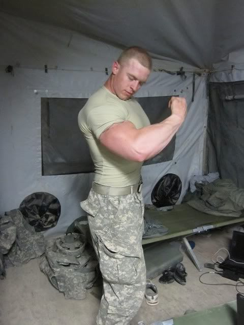 sexy muscle girls military