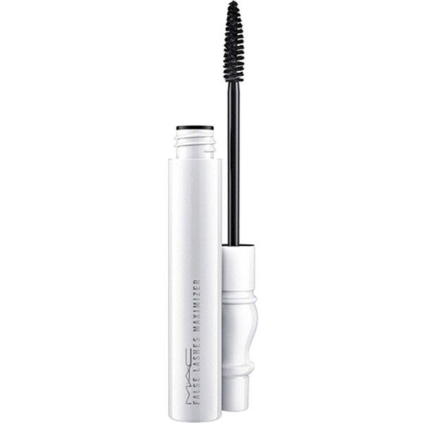 MAC False lashes maximizer ($20) ❤ liked on Polyvore featuring beauty products, makeup, eye makeup, beauty, mac cosmetics, mac cosmetics makeup, holiday makeup, evening makeup and white eye makeup