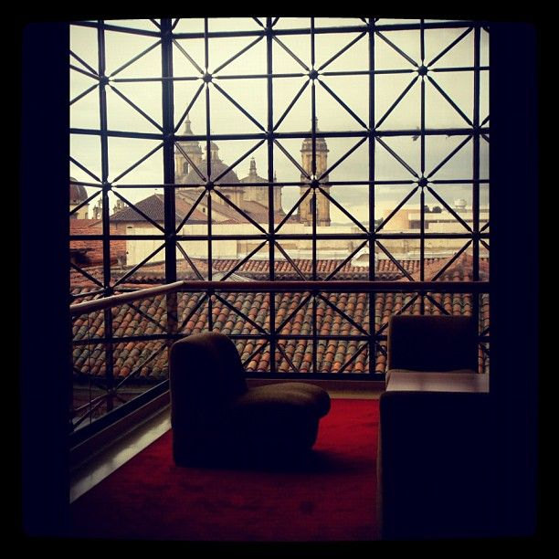 """""""Centro Bogota """"Just submitted my entry to @SocialMediaWeek's #InstagramYourCity for Bogota!"""" by @AndreaDescans"""