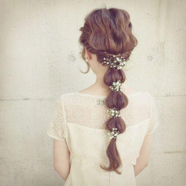 簡単セルフヘアアレンジ!ロング・ミディアム向けのゆる可愛いヘアアレンジ術を写真でやり方解説♡ - TRILL【トリル】