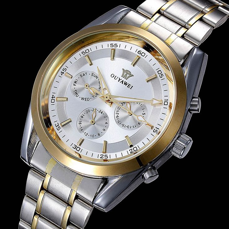Top Brand Ouyawei Watch Men Full Steel Automatic Mechanical Watch For Men Luxury Wristwatch 30M Waterproof  Relogio Masculino-in Mechanical Watches from Watches on Aliexpress.com | Alibaba Group