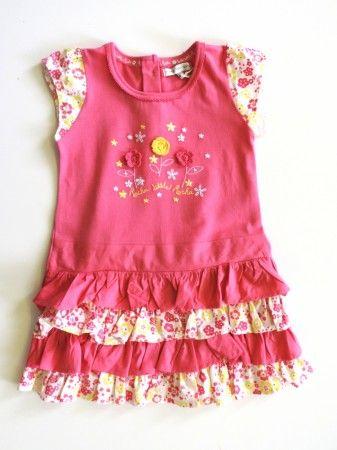 Virágos nyári ruha (92) Új, címkés