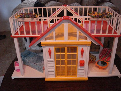 The other night I was checking out a Facebook page with retro toys on it, and it took me way back when I found a picture of this Barbie Dream House from the 80's! That was MY Dream House and I spe...