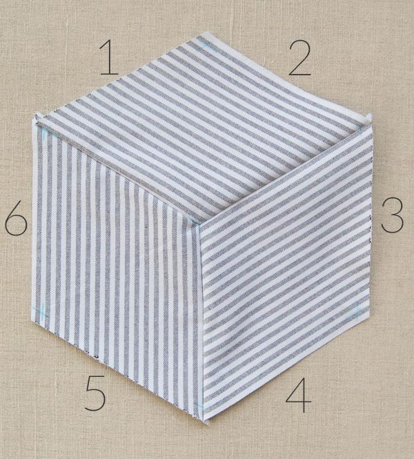 Striped Tumbling Blocks Quilt- How Tos 600-42-graphics