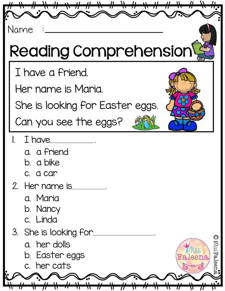 Free Reading Comprehension is suitable for Kindergarten students or beginning readers. There are 15 color and 15 black & white pages of reading comprehension worksheets. Each page contains 3 to 4 sentences passage, a related picture, and 3 multiple choice questions. Preschool | Preschool Worksheets | Kindergarten | Kindergarten Worksheets | First Grade | First Grade Worksheets | Reading| Reading Comprehension | Free Reading Comprehension | Kindergarten Reading Comprehension