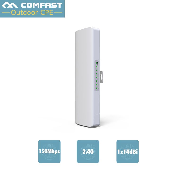 High power 500mW Wireless WIFI Router Repeater CPE Long Range 2KM 150Mbps Outdoor WI FI AP Router CPE AP Bridge Support OpenWRT  #Affiliate