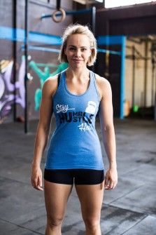 Functional Fitness Clothing Australia | RACERBACK > Humble Hustle Singlet