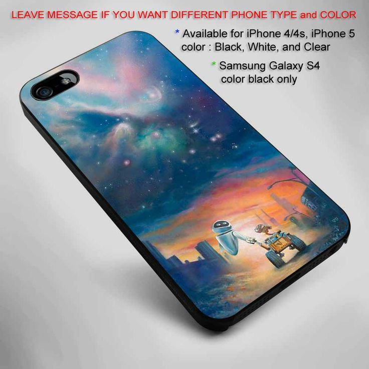 Wall-E and Eva Galaxy iPhone 5 BLACK case