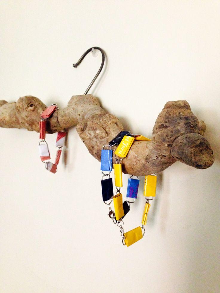 ...braccialetti (paper clips)