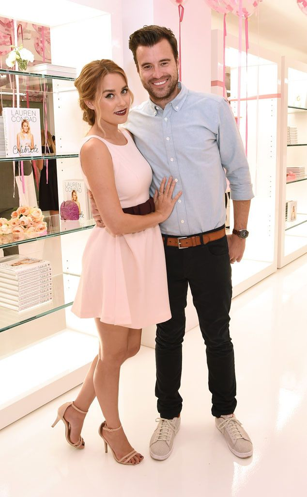 Lauren Conrad & William Tell from The Big Picture: Today's Hot Pics  The Celebrate author and handsome hubby celebrate the book's launch in NYC.
