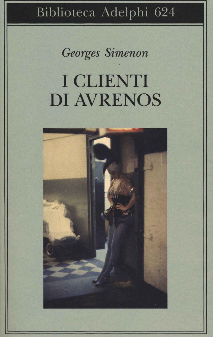 Libro I clienti di Avrenos Georges Simenon