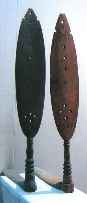Veppsian two distavaes of Babayevsky District, Russia, dating back to the end of XIX - beginning of XX century