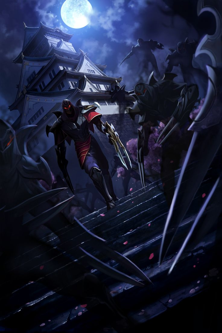 Zed, the Master of Shadows (Himeji Castle♥)