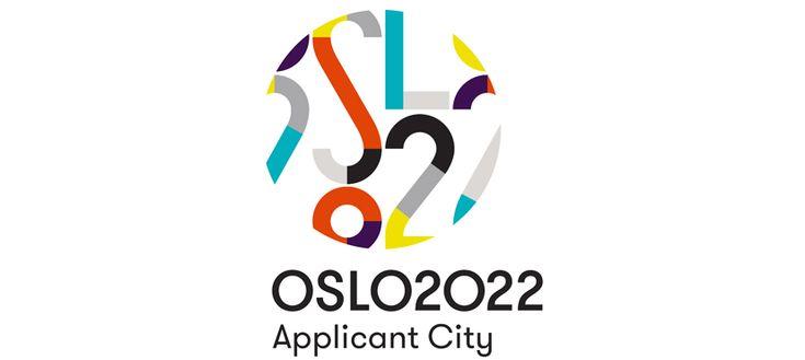 """Logo """"Oslo 2022"""", by Snøhetta Design : Oslo (Norvège), ville candidate aux Jeux Olympiques et Paralympiques d'hiver de 2022,"""