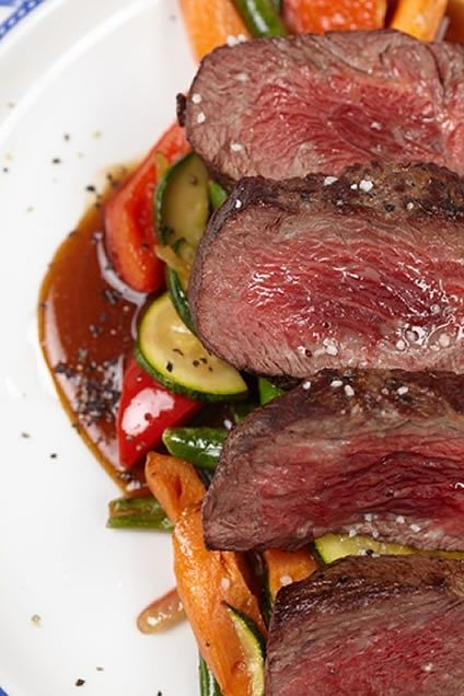 Oriental Steak Marinade with Scallions and Ginger