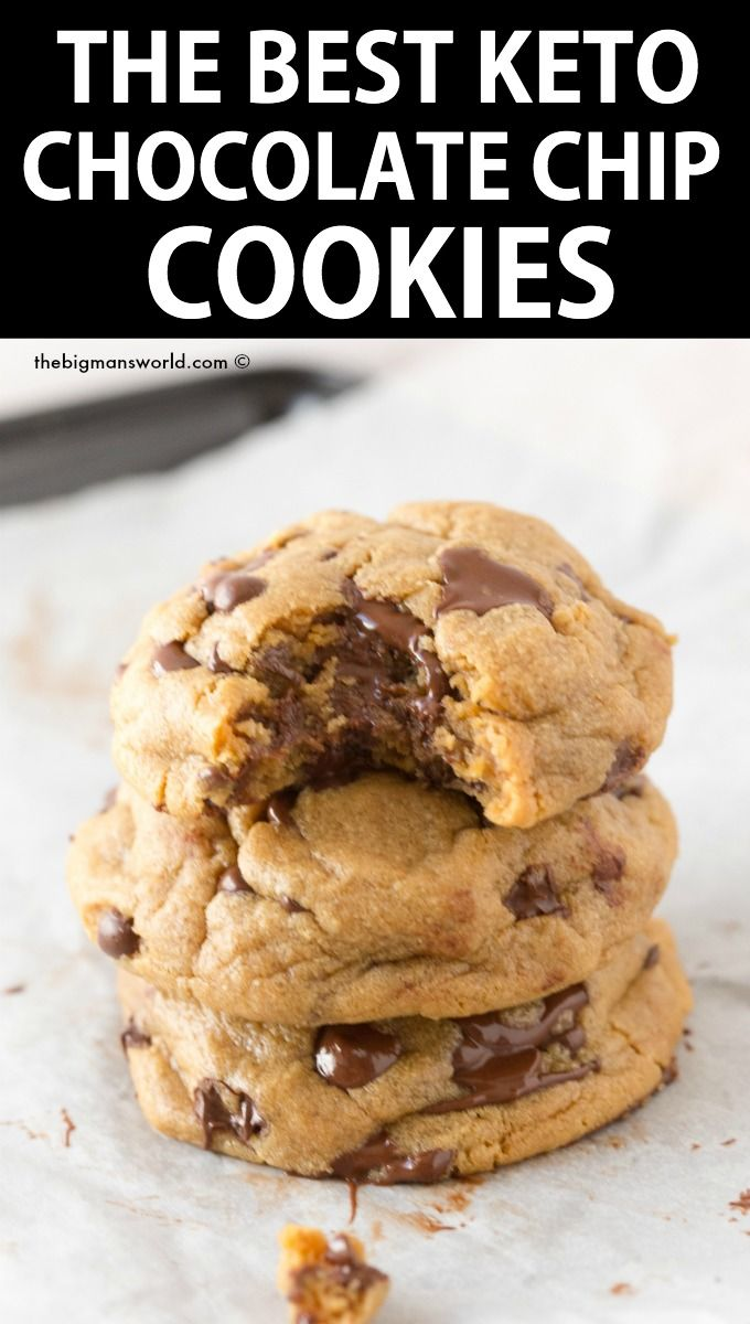 The Best Keto Christmas Cookie Recipes Vegan Paleo The Big Man S World Cookies Recipes Chocolate Chip Keto Chocolate Chip Cookie Recipe Keto Chocolate Chip Cookies