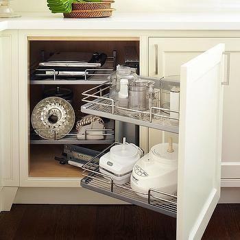 Small Appliances Kitchen Cabinet, Transitional, kitchen, Anne Hepfer Designs