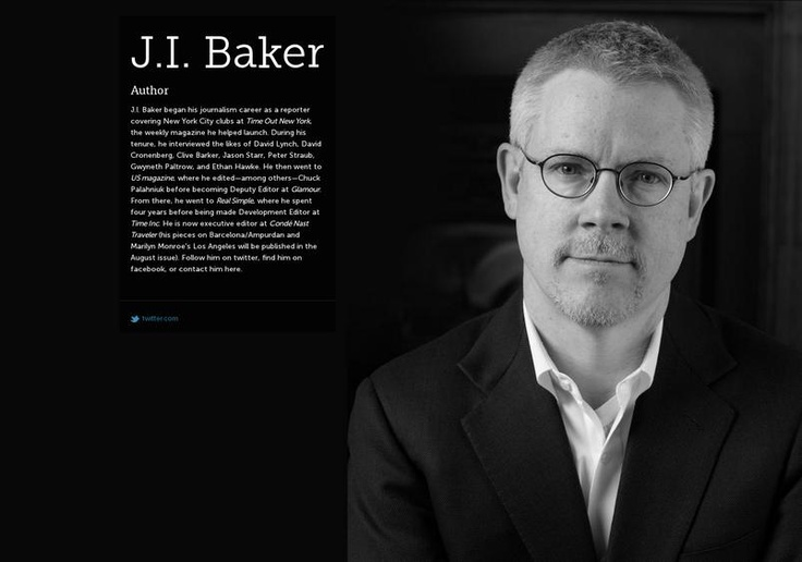 J.I. Baker's page on about.me – http://about.me/jibaker