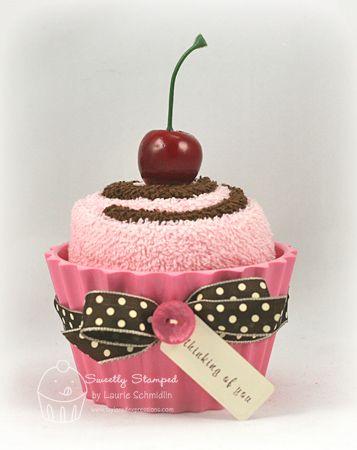 Fazendo a Minha Festa!: Como Fazer Cupcakes de Toalha!