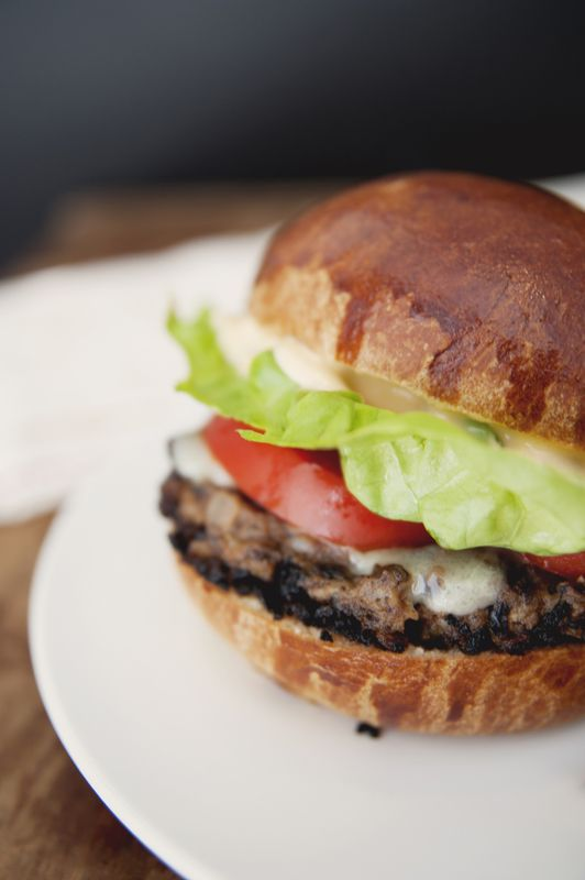 Black bean burger: Take 2! Great site for vegetarian dishes as well!
