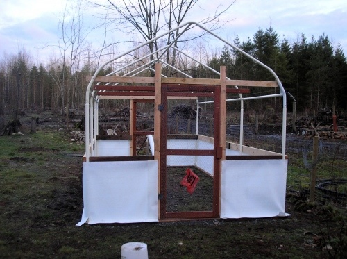 Greenhouse from carport frame tutorial - I have the frame, just need the rest (and someone to do it LOL)
