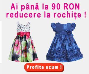 Oferta Rochite pentru fete BONNIE JEAN Rochite pentru fete BONNIE JEAN Rochite pentru fete de ocazie sau de seara confectionate de Bonnie Jean unul dintre cele mai cunoscute brand-uri din Statele...