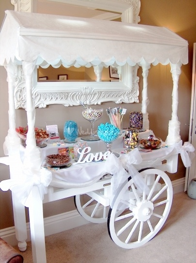 Hire Victorian Sweet Cart Company and you won't be disappointed!