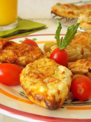 mini quiche au thon et aux olive pour le ramadan 2013