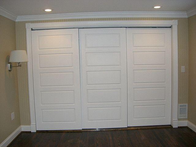 5 panel door bypass style closet door ideas pinterest style closet and doors. Black Bedroom Furniture Sets. Home Design Ideas